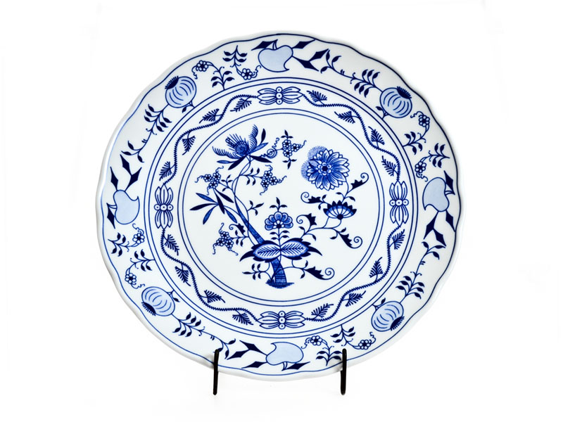 Cibulak blue plate