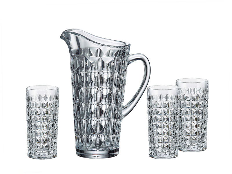 Bohemia Diamond water set