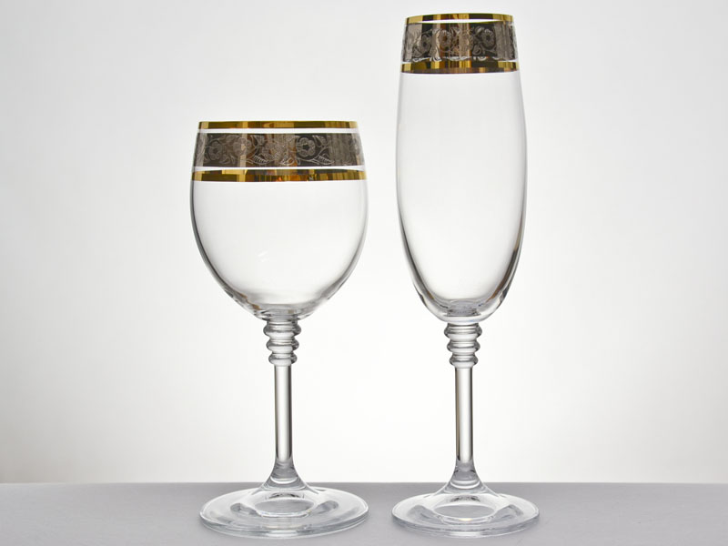 Decorated Beer Glasses