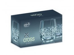 "Szklanki do whisky ""X Cross"" -  300 ml"