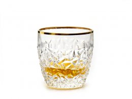 "Szklanki do whisky ""Nicolette Gold Rim"""