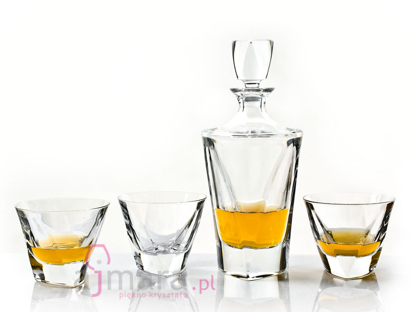 "Zestaw do whisky ""Triangle"""